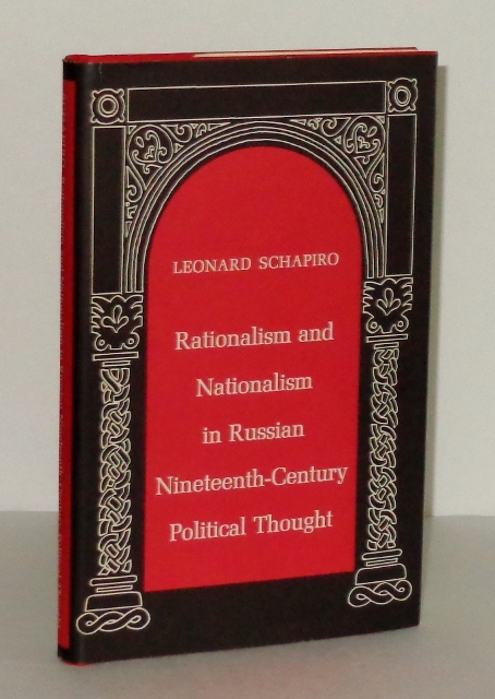 Image for Rationalism and Nationalism in Russian Nineteenth-Century Political Thought