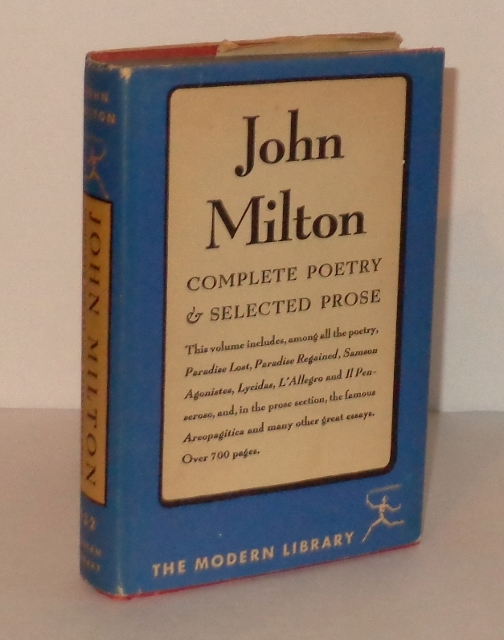Image for The Complete Poetry & Selected Prose of John Milton
