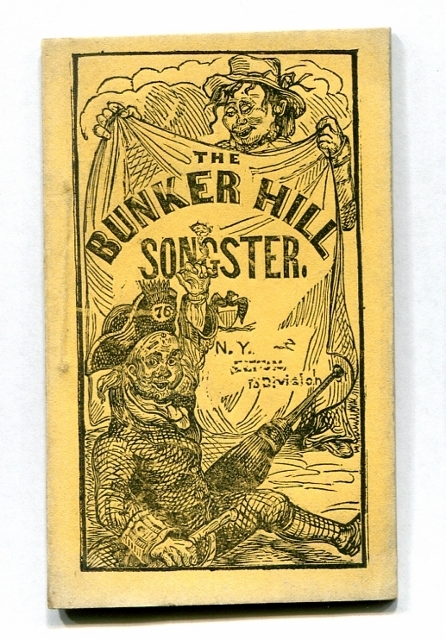 Image for Bunker Hill Songster, Containing National and Patriotic Songs, as Sung by the Principal Vocalists [Yellow Covers]