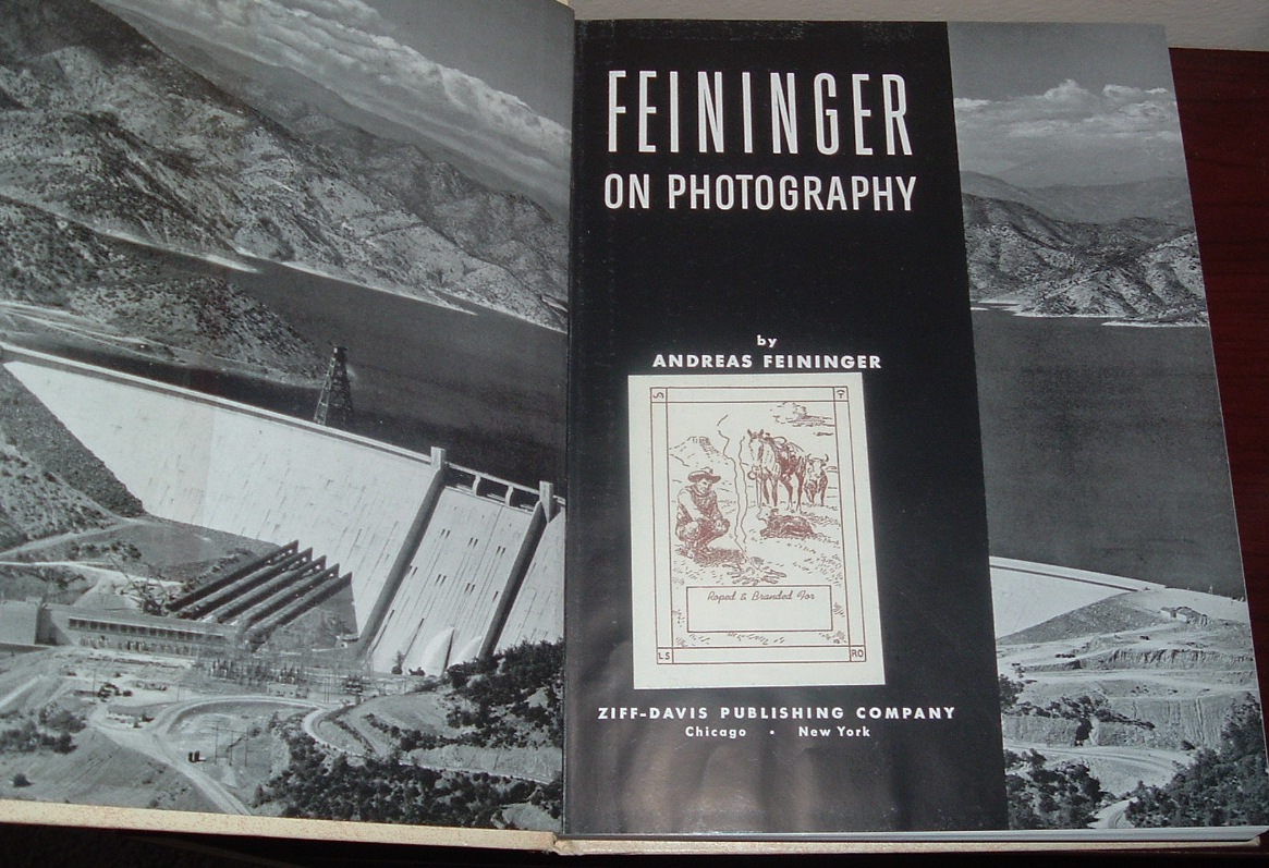Image for Feininger on Photography