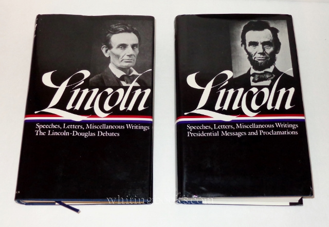 Image for Lincoln: Speeches, Letters, and Writings, Two Volumes - 1832-1858: The Lincoln-Douglas Debates and 1859-1865: Presidential Messages and Proclamations (Library of America)
