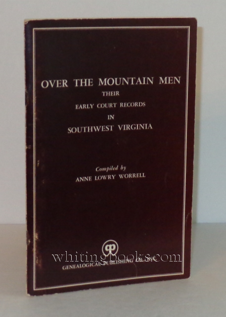 Image for Over the Mountain Men: Their Early Court Records in Southwest Virginia