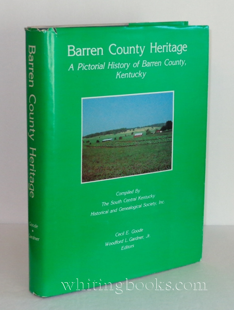 Image for Barren County Heritage: A Pictorial History of Barren County, Kentucky