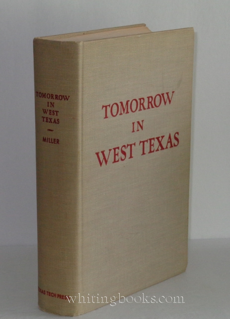 Image for Tomorrow in West Texas: Economic Opportunities Along the Texas and Pacific Railway