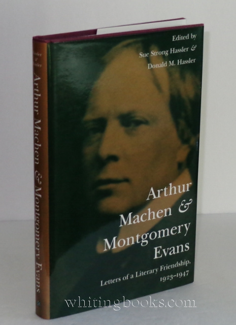 Image for Arthur Machen and Montgomery Evans : Letters of a Literary Friendship, 1923-1947