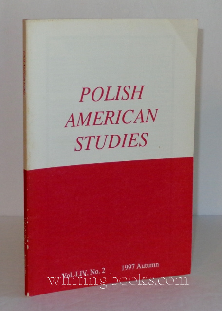 Image for Polish American Studies: A Journal of Polish American History and Culture; Vol. LIV, No. 2, 1997 Autumn