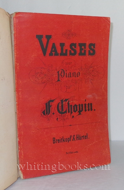 Image for Valses Pour Piano - Walzer Fur Das Pianoforte