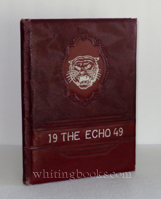 The Tiger Echo 1949 Yearbook for Katy High School (Katy, Texas)