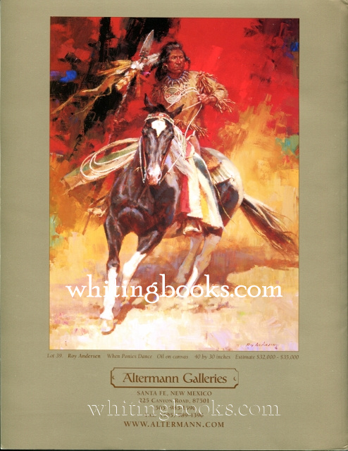 Image for Altermann Galleries Spring Auction Catalog  May 15, 2004, Santa Fe