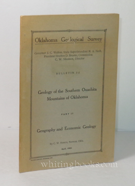 Image for Oklahoma Geological Survey, Bulletin 32: Geology of the Southern Ouachita Mountains of Oklahoma , Part II: Geography and Economic Geology