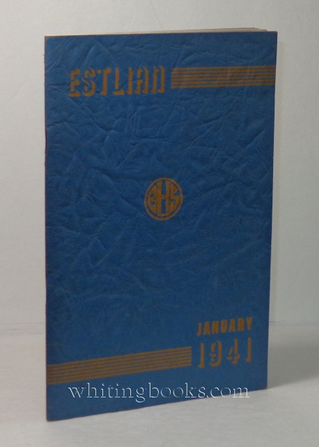 Image for Estlian, January 1941: East St. Louis High School Yearbook