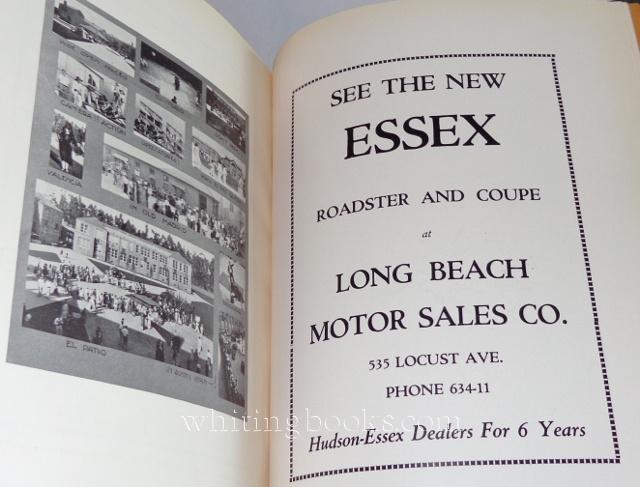The Campanile Woodrow Wilson High School Yearbook Volume I 1927 Long Beach California