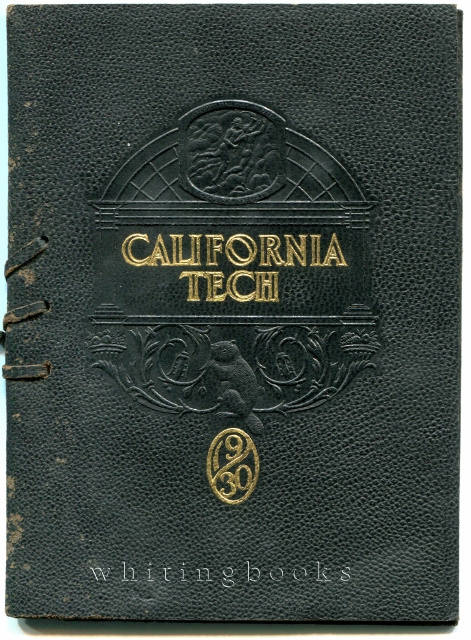 California Institute of Technology (Cal Tech) 1930 Commencement Program; Robert A. Millikan Pictured - Nobel Prize Winner and Director of Cal Tech's Norman Bridge Laboratory of Physics