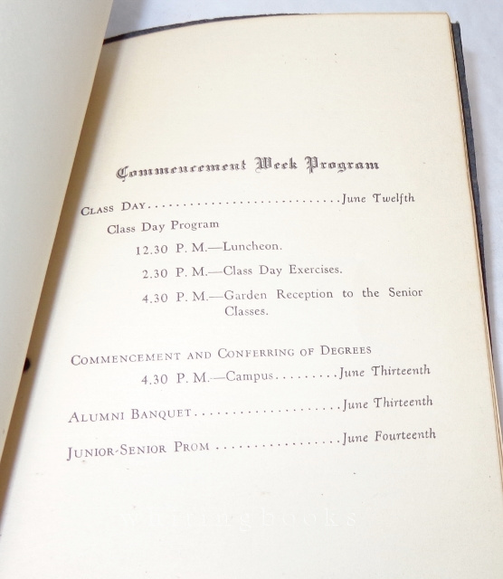 Image for California Institute of Technology (Cal Tech) 1930 Commencement Program; Robert A. Millikan Pictured - Nobel Prize Winner and Director of Cal Tech's Norman Bridge Laboratory of Physics