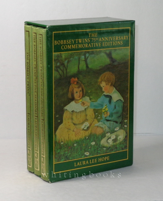 The Bobbsey Twins 75th Anniversary Commemorative Editions Boxed Set (The Bobbsey Twins, The Bobbsey Twins at the Seashore, The Bobbsey Twins in the Country)