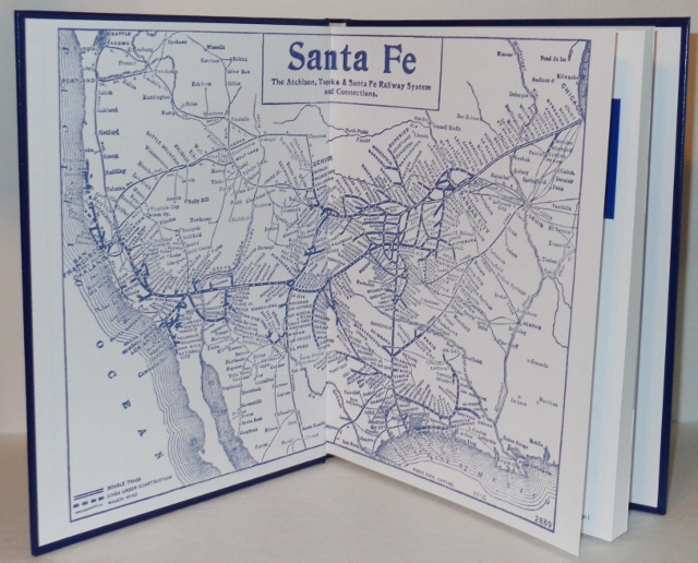 Image for Postcard History of the Early Santa Fe Railway: Postcard Views of Early Twentieth Century Santa Fe Railway (Including Fred Harvey)