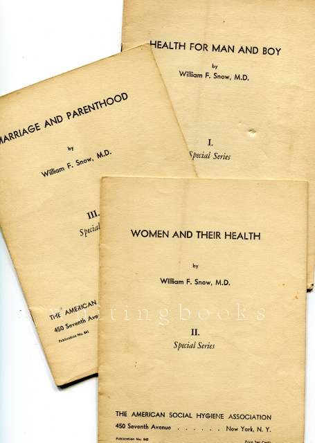 Image for Three-Volume Special Series from the American Social Hygiene Association: I. Health for Man and Boy, II. Women and their Health, III. Marriage and Parenthood