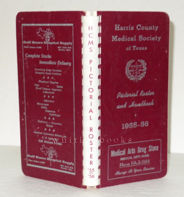 Image for Harris County Houston Texas Medical Society Pictorial Roster Handbook 1955-56