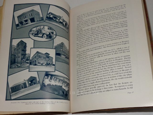 Image for Municipal Book City of Houston, Period Ending December 31, 1928
