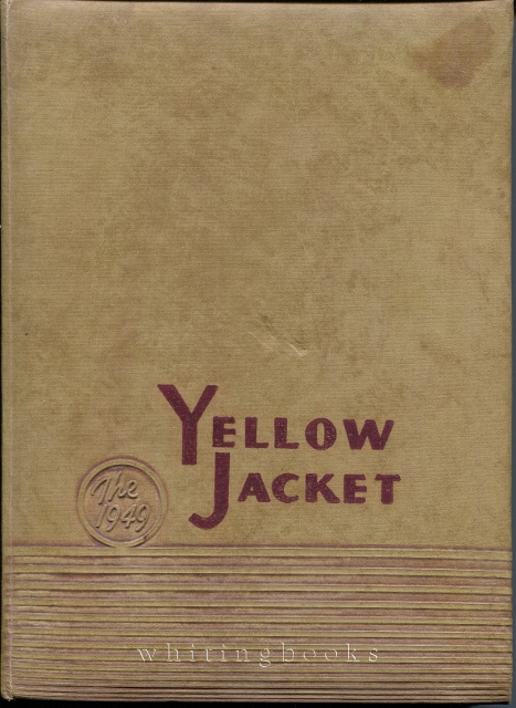 Image for The Yellow Jacket 1949: Alvin, Texas High School Yearbook