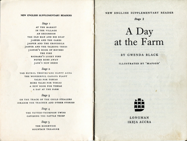 Image for A Day at the Farm (New English Supplementary Reader, Stage 2)