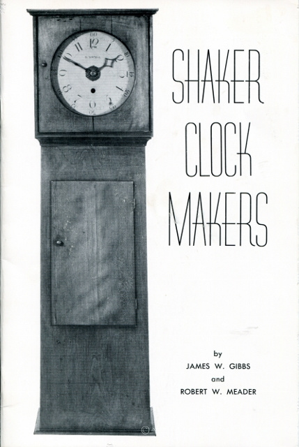 Image for Shaker Clockmakers (NAWCC Monograph No. 7)