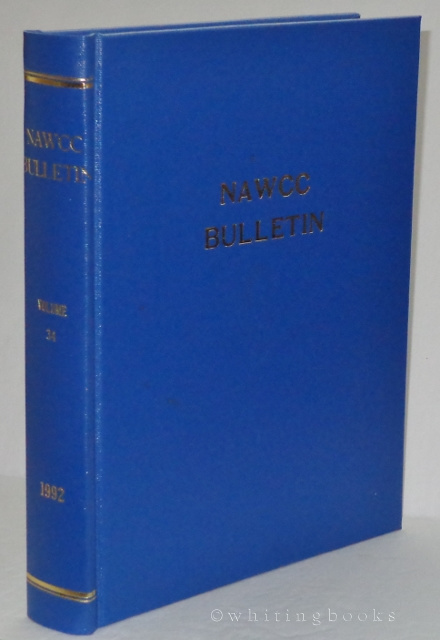 Image for NAWCC Bulletin, Volume 34, 1992 (National Association of Watch and Clock Collectors) Complete Set, Hardbound