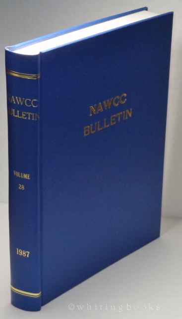 Image for NAWCC Bulletin, Volume 29, 1987 (National Association of Watch and Clock Collectors) Complete Set, Hardbound