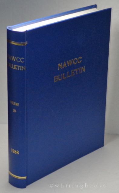 Image for NAWCC Bulletin, Volume 30, 1988 (National Association of Watch and Clock Collectors) Complete Set, Hardbound