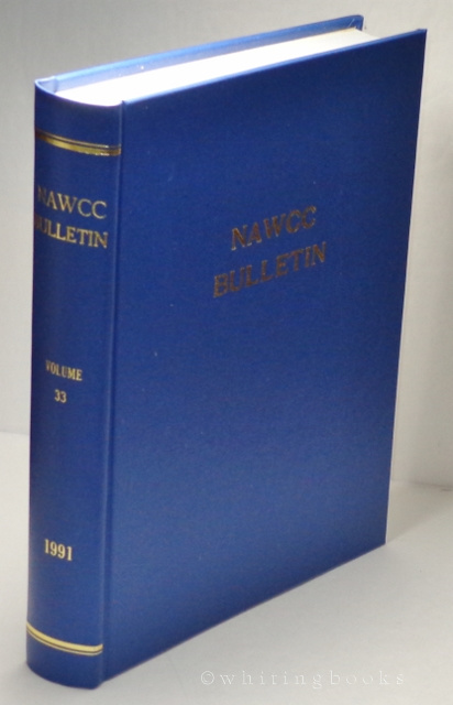 Image for NAWCC Bulletin, Volume 33, 1991 (National Association of Watch and Clock Collectors) Complete Set, Hardbound