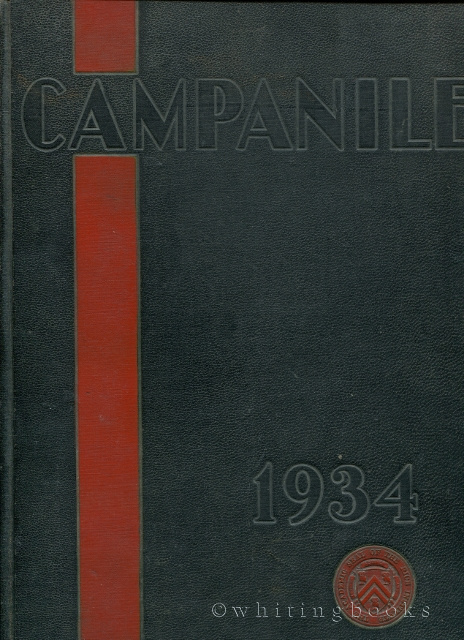 Image for The Campanile, Volume 19: 1934 Rice Institute Yearbook