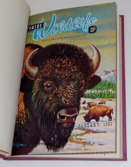 Image for Wyoming Wildlife: January to March 1961, Hardbound in One Volume