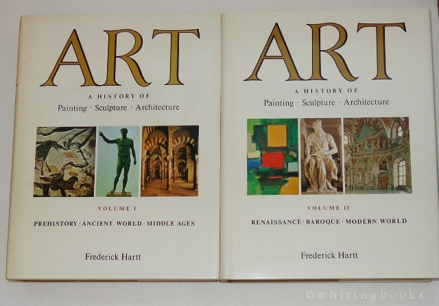 Image for Art: A History of Painting, Sculpture, and Architecture - VOLUME I (Prehistory, Ancient World, Middle Ages) and VOLUME II (Renaissance, Baroque, Modern World)