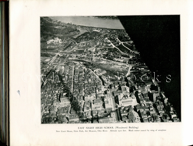 Image for The Rostrum 1919: East Night High School Yearbook, Cincinnati, Ohio, with Images from the First Aerial Photographs of Cincinnati, taken by Former Student, Sgt. Louis Hagemeyer