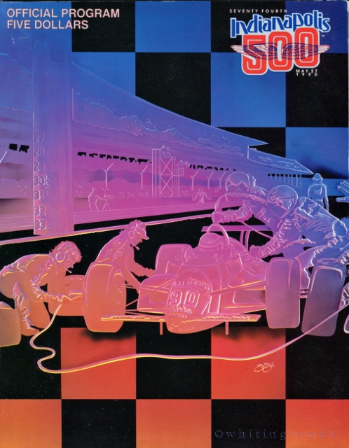 Image for Seventy-Fourth Indianpolis 500 (Indy 500) Program for 1990