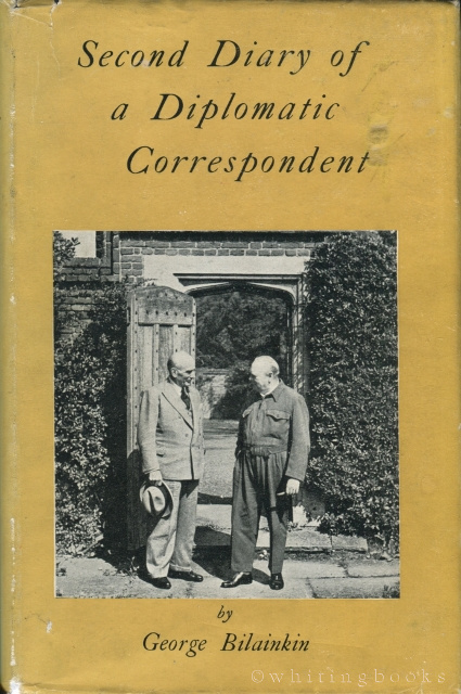 Second Diary of a Diplomatic Correspondent [Inscribed to Jacqueline Kennedy]