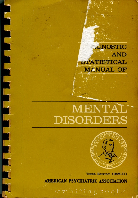 Image for DSM-II: Diagnostic and Statistical Manual of Mental Disorders, Second Edition
