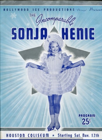 Image for The Incomparable Sonja Henie, Hollywood Ice Revue Program, Houston Coliseum, November 1938