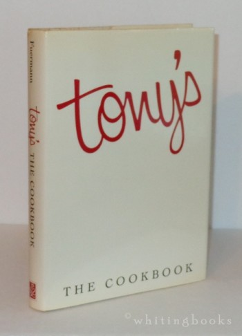 Image for Tony's: The Cookbook