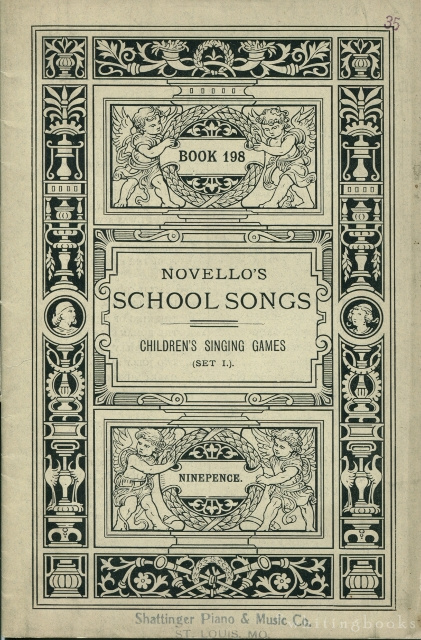 Image for Novello's School Songs, Book 198: Children's Singing Games, Set I