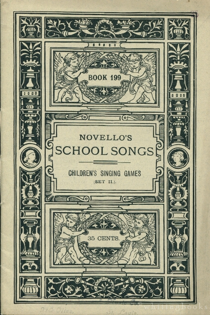 Image for Novello's School Songs, Book 199: Children's Singing Games, Set II