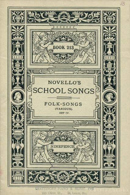 Image for Novello's School Songs, Book 213: Folk-Songs (Various), Set IV