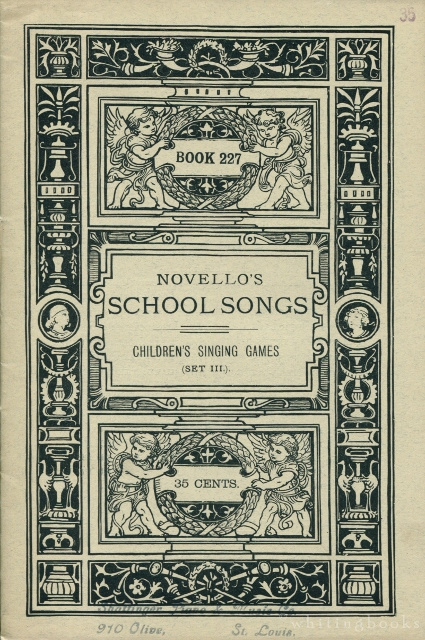 Image for Novello's School Songs, Book 227: Children's Singing Games, Set III