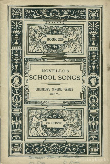 Image for Novello's School Songs, Book 229: Children's Singing Games, Set V