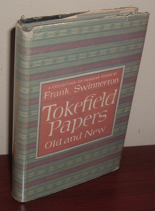 Image for Tokefield Papers Old and New: A Collection of Familiar Essays by Frank Swinnerton