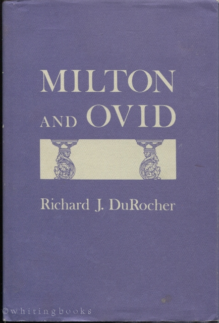 Image for Milton and Ovid