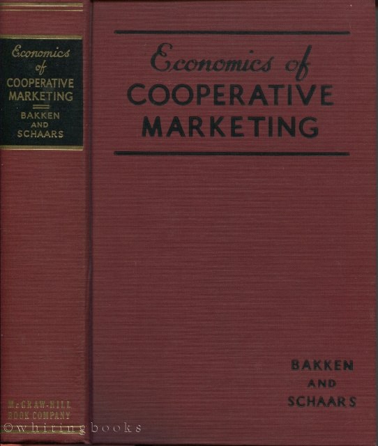 Image for The Economics of Cooperative Marketing
