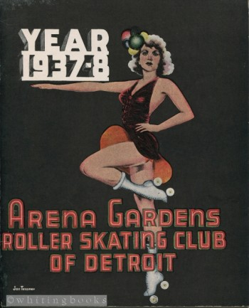 Image for Arena Gardens Roller Skating Club of Detroit 1937-8 Year Book