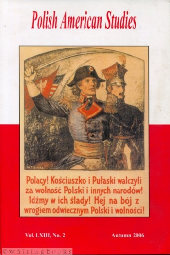 Image for Polish American Studies: A Journal of Polish American History and Culture; Vol. LXIII, No. 2, Autumn 2006