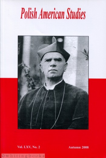 Image for Polish American Studies: A Journal of Polish American History and Culture; Vol. LXV, No. 2, Autumn 2008
